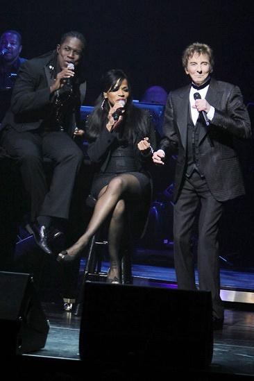 Manilow on Broadway – opening night – Kye Brackett – Sharon Hendrix – Barry Manilow