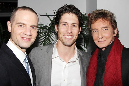 Manilow on Broadway – opening night – Barry Manilow - Louis Burgdorf - Barry Manilow