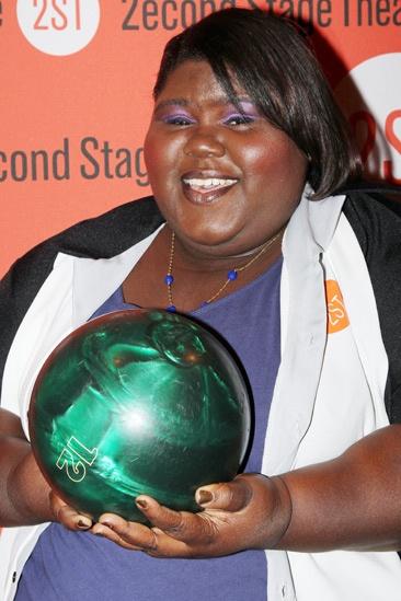 Second Stage Bowling 2013  - Gabourey Sidibe