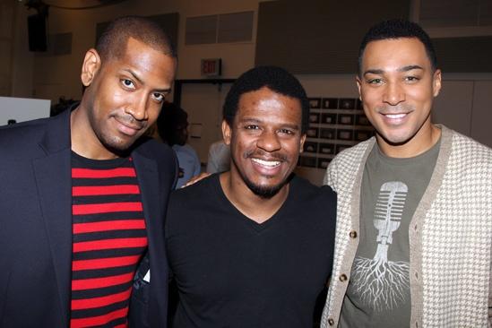'Motown' Meet and Greet — Bryan Terrell Clark — Ryan Shaw — Charl Brown