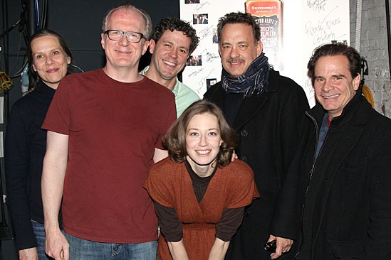 Who's Afraid of Virginia Woolf? – Tom Hanks and Peter Scolari Visit – Amy Morton – Tracy Letts – Madison Dirks – Carrie Coon – Peter Scolari