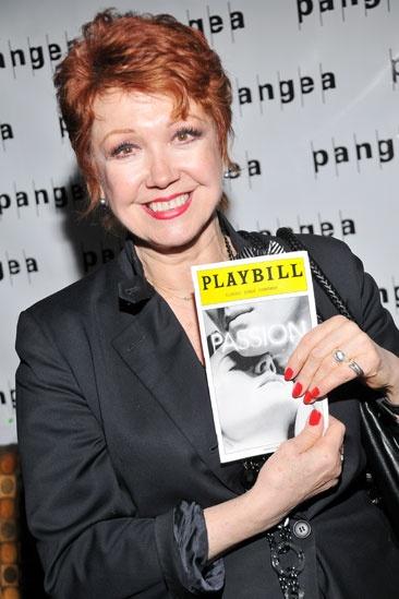 Passion – Opening Night – Donna McKechnie