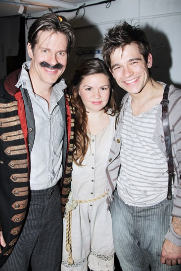 Peter and the Starcatcher – Re-opening – Rick Holmes – Nicole Lowrence – Jason Ralph