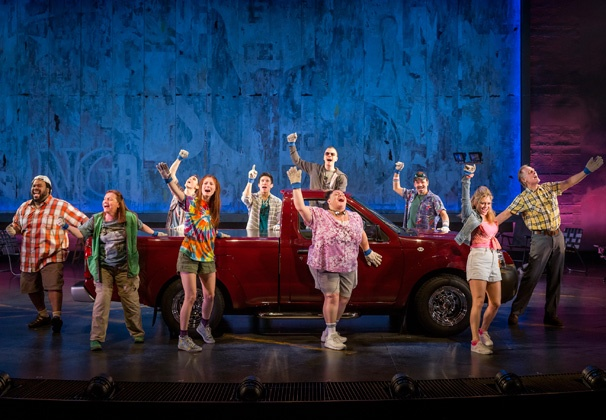 Show Photos - Hands on a Hardbody - cast