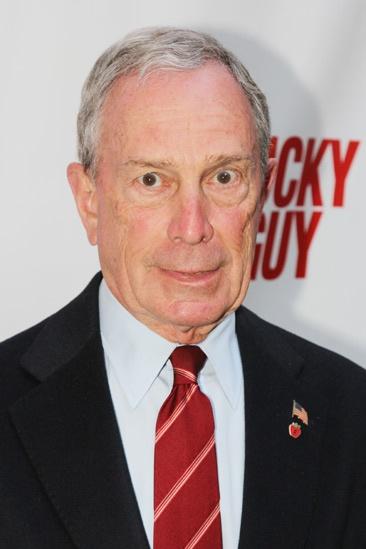 'Lucky Guy' Opening — Mayor Michael Bloomberg