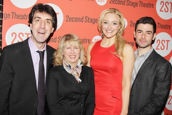 The Last Five Years – Opening Night – Jason Robert Brown – Carole Rothman – Betsy Wolfe – Adam Kantor