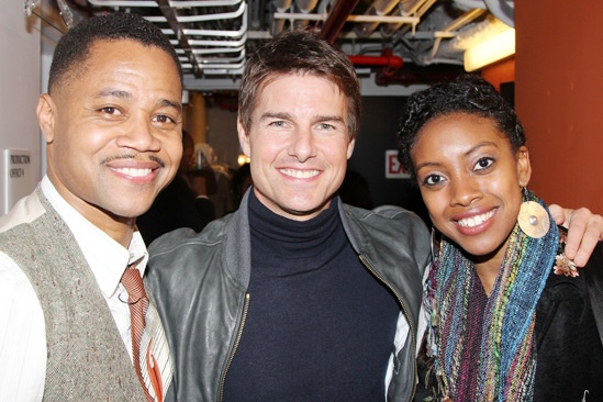 The Trip to Bountiful – Tom Cruise Visit – Cuba Gooding Jr. – Tom Cruise – Condola Rashad