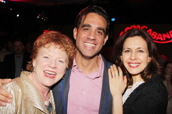 The Assembled Parties – Opening Night – Becky Ann Baker – Bobby Cannavale – Jessica Hecht