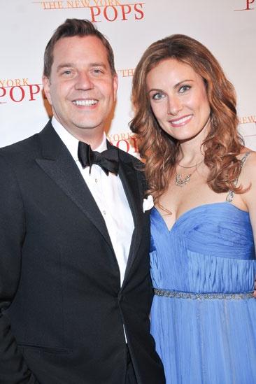 New York Pops gala – Laura Benanti – Steven Reineke