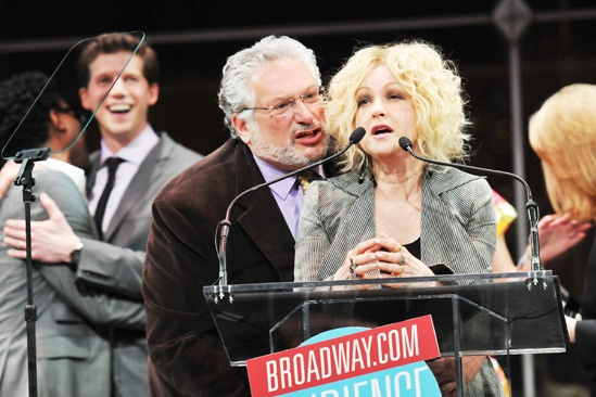 2013 Audience Choice Awards Ceremony — Harvey Fierstein — Cyndi Lauper