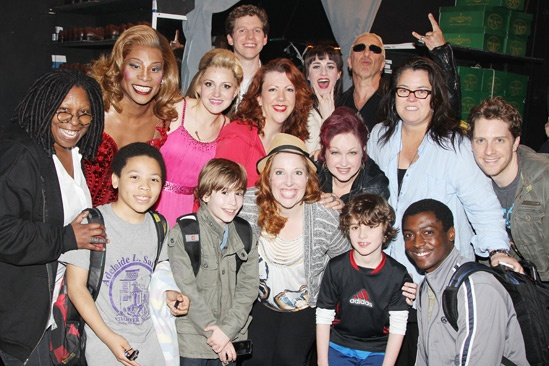 Kinky Boots- The Cast- Whoopi Goldberg- Dee Snider- Cyndi Lauper- Rosie O'Donnell