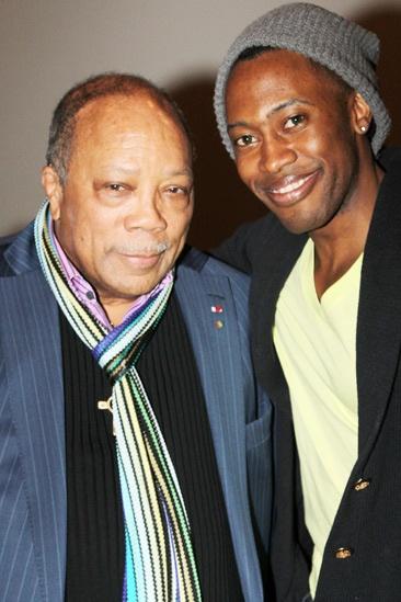 Quincy Jones at 'Motown' — Quincy Jones — Eric LaJuan Summers