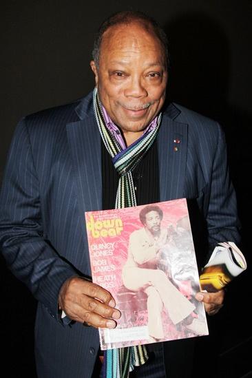 Quincy Jones at 'Motown' — Quincy Jones