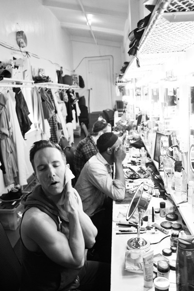 Kinky Boots Backstage- Paul Canaan