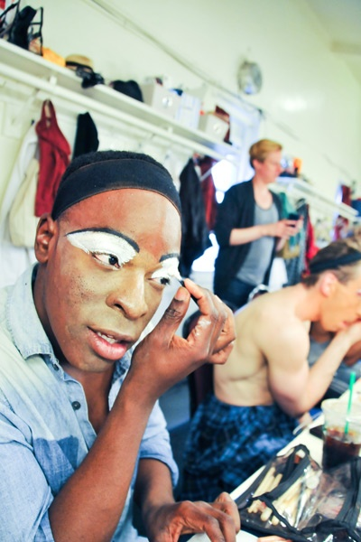 Kinky Boots Backstage- Kyle Taylor Parker- Paul Canaan