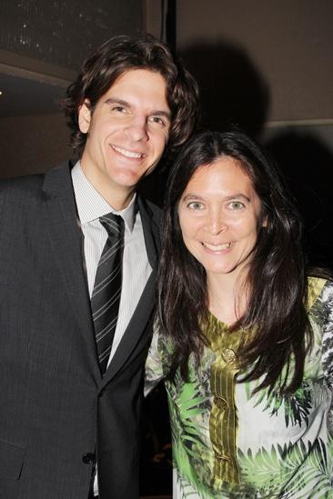 2013 Drama League Awards Luncheon — Alex Timbers — Diane Paulus