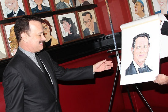Tom Hanks at Sardi's — Tom Hanks
