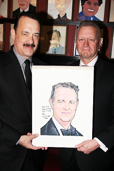 Tom Hanks at Sardi's — Tom Hanks — Max Klimavicius
