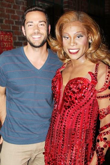 Zachary Levi and Krysta Rodriguez at 'Kinky Boots' — Zachary Levi — Billy Porter