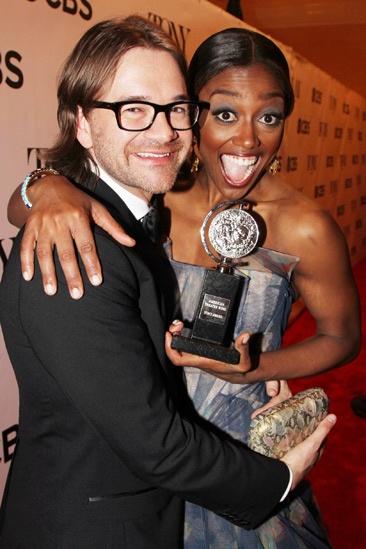 2013 Tony Awards Winner's Circle – Patina Miller — David Mars