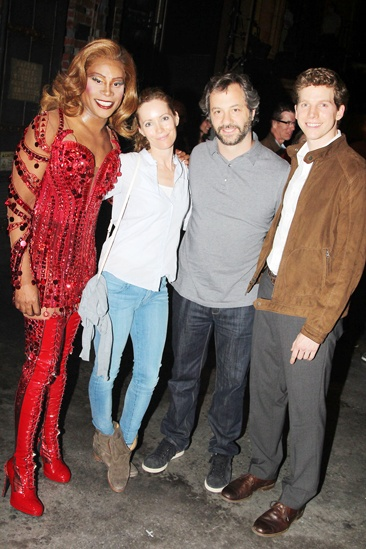 Kinky Boots- Billy Porter- Leslie Mann- Judd Apatow- Stark Sands