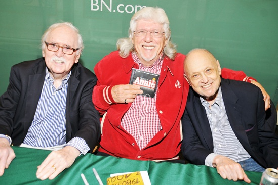 Annie-  CD Signing- Thomas Meehan- Martin Charnin- Charles Strouse
