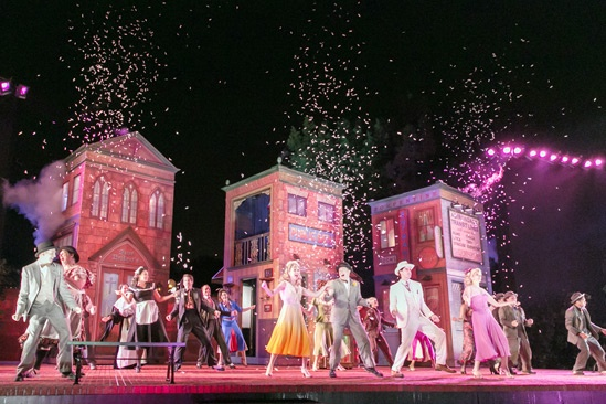 'The Comedy of Errors' Opening in Central Park — Company