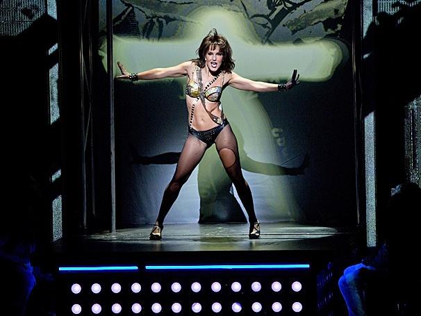Show Photos - Flashdance - tour - Katie Webber