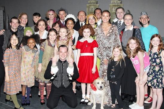 Annie- Heidi Klum-Cast