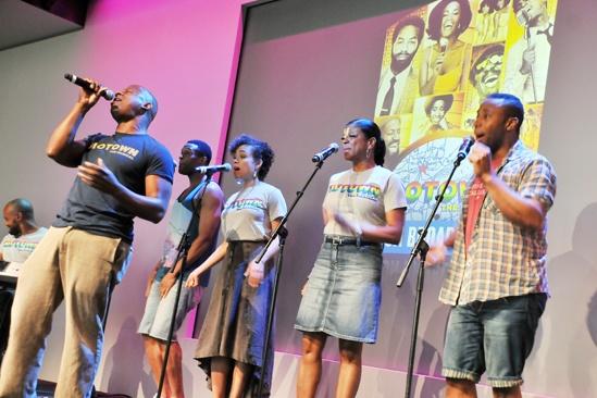 'Motown' at SoHo Apple Store— Ryan Shaw
