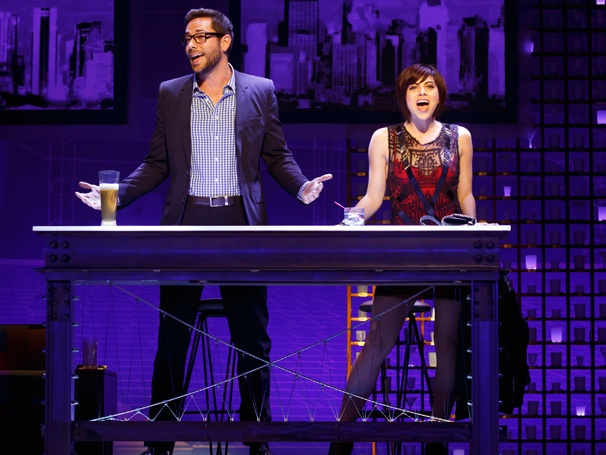 'First Date' Show Photos — Zachary Levi — Krysta Rodriguez