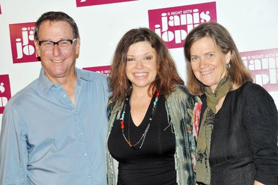 'A Night with Janis Joplin' Press Event — Michael Joplin — Mary Bridget Davies — Laura Joplin