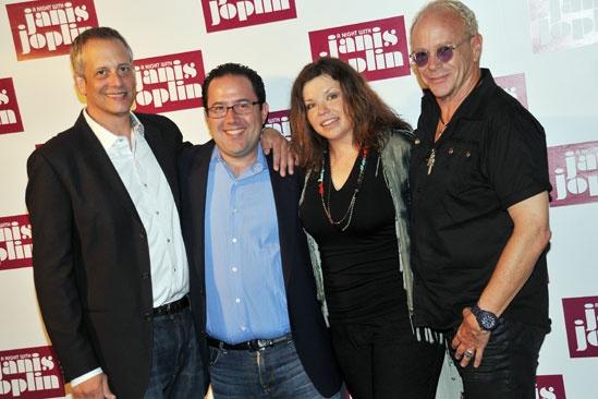 'A Night with Janis Joplin' Press Event — Dan Chilewich — Todd Gershwin — Mary Bridget Davies — Randy Johnson