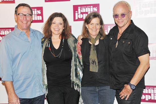 'A Night with Janis Joplin' Press Event — Michael Joplin — Mary Bridget Davies — Laura Joplin — Randy Johnson