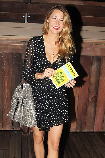 Blake Lively and Ryan Reynolds at Big Fish – Blake Lively