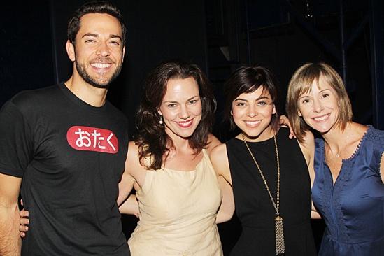 Giuliana & Bill at 'First Date' — Zachary Levi — Georgia Stitt — Krysta Rodriguez — Susan Egan