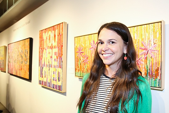 Sutton Foster Art Gallery Opening – Sutton Foster