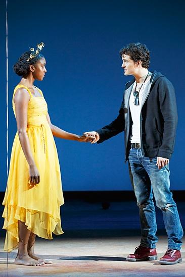 <I>Romeo and Juliet</I>: Show Photos - Condola Rashad  - Orlando Bloom
