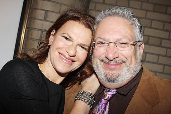 'The Glass Menagerie' Opening — Sandra Bernhard — Harvey Fierstein