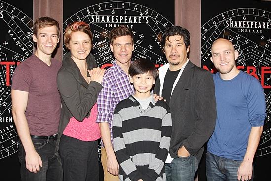 Macbeth – Meet and Greet – Nathan Stark - Francesca Faridany – Aaron Krohn - Sam Poon – Triney Sandoval - Paul Kite