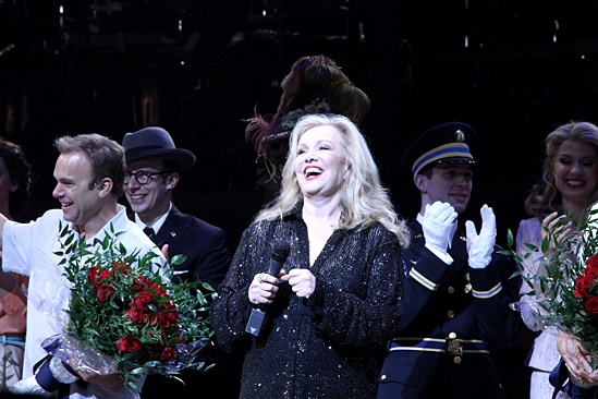Big Fish – Opening Night – Susan Stroman curtain call