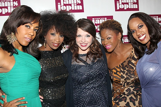 A Night With Janis Joplin – Opening Night – de'Adre Aziza – Taprena Michelle Augustine – Mary Bridget Davies - Nikki Kimbrough - Allison Blackwell