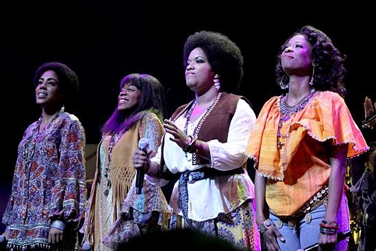 A Night With Janis Joplin – Opening Night – de'Adre Aziza – Nikki Kimbrough – Allison Blackwell - Taprena Michelle Augustine