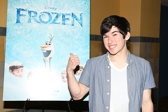 Frozen – Newsies Screening – Andy Richardson