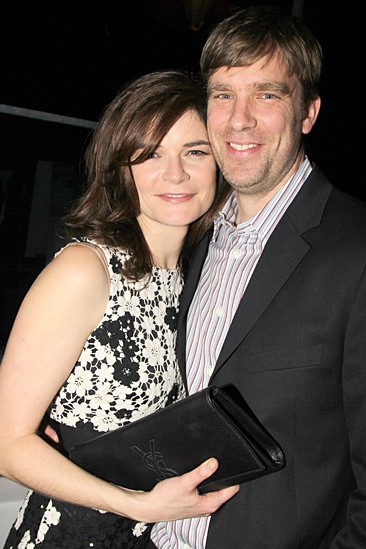 Betsy Brandt with Husband Grady Olsen