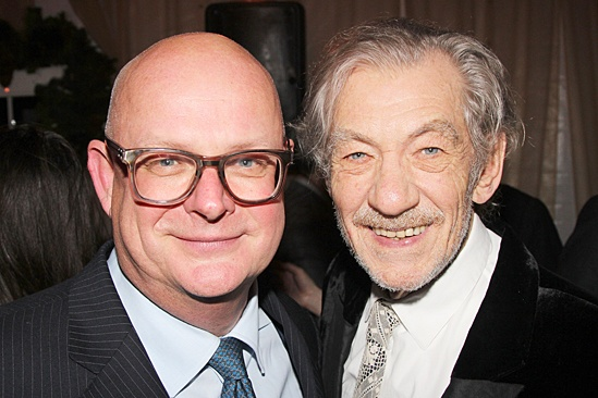 Waiting For Godot – Opening Night – Stuart Thompson – Ian McKellen