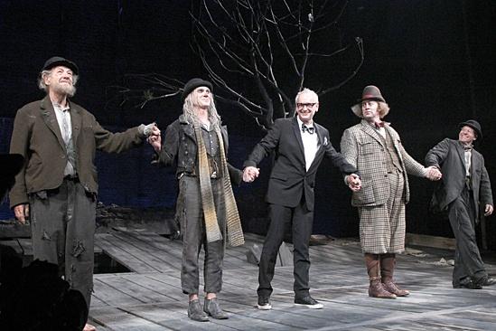 Waiting For Godot – Opening Night – Ian McKellen – Billy Crudup – Sean Mathias – Shuler Hensley – Patrick Stewart
