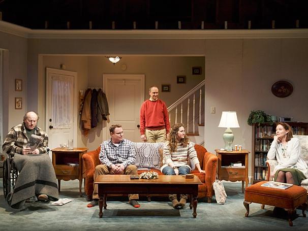 The Open House - Show Photos - PS - Peter Friedman - Danny McCarthy - Michael Countryman - Hannah Bos - Carolyn McCormick