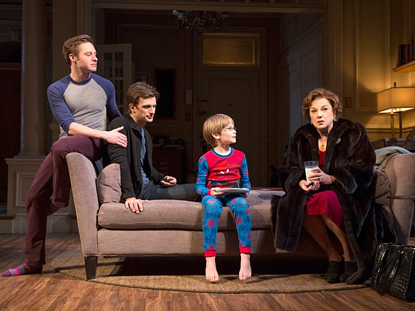 Mothers and Sons - Show Photos - PS - 3/14 - Bobby Steggert - Frederick Weller - Grayson Taylor - Tyne Daly