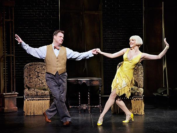 Bullets Over Broadway - Show Photos - PS - 4/14 - Brooks Ashmanskas - Helene Yorke